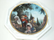 Precious Moments Collector Plate The Crucifixion Bible Story 1992 Hamilton P6