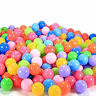 200pcs Quality Secure Baby Pit Toy Swim Fun Colorful Soft Plastic Ocean Ball CLI