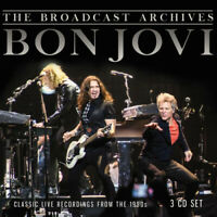 Bon Jovi : The Broadcast Archives CD 3 discs (2019) ***NEW*** Quality guaranteed