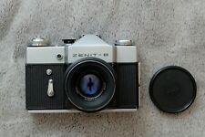 ZENIT B 35mm SLR Film Camera, Helios 44m 2/58 Lens