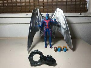 """Marvel Legends ARCHANGEL 6"""" Figure Deluxe Complete Hasbro Apocalypse BAF claw NR"""