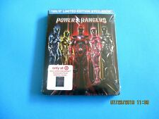 POWER RANGERS (Blu-ray + DVD + Digital + Graphic Novel)  NEW  Target Exclusive