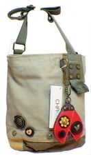 Chala Purse Handbag Canvas Crossbody with Key Chain Tote Bag Lady Bug