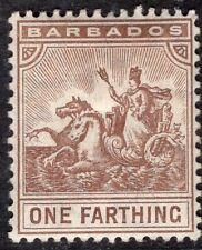 BARBADOS 1904/10 STAMP Sc. # 91 MH