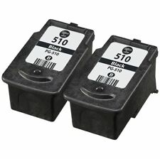2x Canon PG-510 Ink Cartridges for use with Canon PIXMA Printers