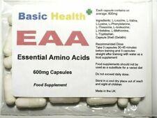 EAA Powder x 120 Capsules Esssential Amino Acid BCAA Leucine Isoleucine Valine
