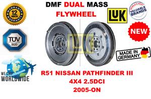 FOR R51 NISSAN PATHFINDER III 4WD 2.5DCI 2005-ON NEW DUAL MASS DMF FLYWHEEL