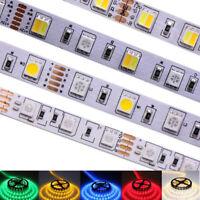 0.5M 5M SMD 5050 RGB white Waterproof 300 LED Flexible 3M Tape Strip Light DC12V