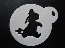Corte láser pequeño Eeyore Diseño Pastel, Cookie, Craft & Plantilla de Pintura de cara