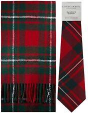 MacGregor clan moderno Tartan brushwool Bufanda & Tie Conjunto de Regalo