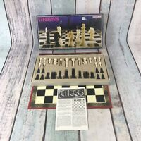 Vintage Chess Set By Ingham Day Complete Board Game
