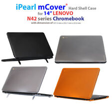 "NEW iPearl mCover® Hard Shell Case for 14"" Lenovo N42 Chromebook Laptop Computer"