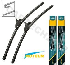 "Fits VW Polo MK3/Variant 1994-2001 Front Pair Aero Flat Wiper Blades 19""19"" (A)"