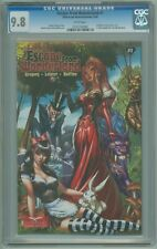 Escape from Wonderland # 1 CGC 9.8 NM/MT J Scott Campbell Cover 2009 HTF