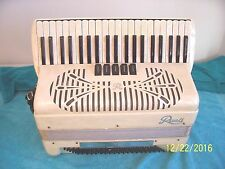 Sonola Rivoli White  Accordion 3/4 reeds accordian in good playing cond. Italy