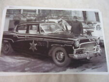 1956 STUDEBAKER PRESIDENT POLICE CAR   11 X 17  PHOTO  PICTURE