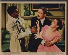 Clark Gable Yvonne De Carlo Sidney Poitier Band of Angels 1957 movie photo 26995