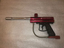 Brass Eagle Avenger Paintball Marker Gun Red With Barrel Untested