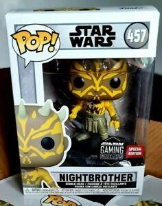 Funko Pop Star Wars 457 Nightbrother Gaming Greats *MINT* Vinyl Figure