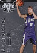 Nik Stauskas ,(Rookie)  2014-15 Totally Certified Basketball Sammelkarte, #148