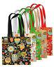 Shopping Bag Eco Funny Owls Retro Print Shopper Tote Beach Shoulder Handbag