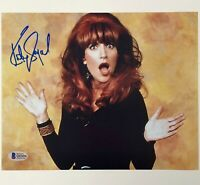 Katey Sagal autograph Married With Children signed 8x10 Photo A Beckett BAS COA