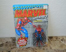 Web Suction Spiderman Vintage Action Figure (marvel Superheroes). ToyBiz 1990