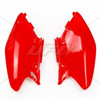 UFO Honda Motocross Side Panel Boards CR 125 250 2002 - 2004 Red
