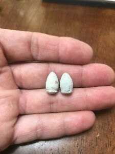 Pair of Confederate Teardrop Revolver Bullets Dug at Battle of Brandy Station