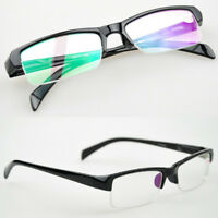 New Black Nearsighted Glasses Minus Distance Rectangle Myopia Eyeglass -1.0 -4.0