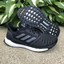 NEW Adidas Solar Boost Women's Running Shoes BC0674 Size 6.5 - Black