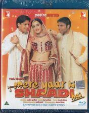 MERE YAAR KI SHAADI HAI - YRF 2 DISC BOLLYWOOD BLU-RAY & DVD SET - Uday Chopra.