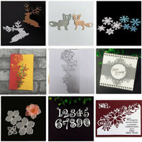 Metal Cutting Dies Stencil DIY Scrapbooking Die Card Paper Embossing Craft Album