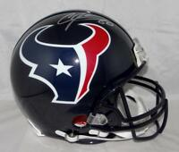 Andre Johnson Autographed Houston Texans F/S ProLine Helmet- JSA W Auth *Silver