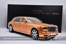 KYOSHO 1:18 Rolls-Royce Phantom golden