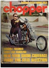 STREET CHOPPER APRIL 1971 SEE CONTENT AEE 70's STYLE CUSTOM CHOPPERS TECH TIPS