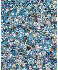 """Takashi Murakami """"Zero one"""" ED 300 kaikai kiki Offset print signed"""