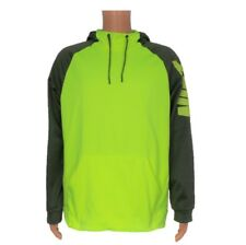 NEW Nike Mens L Therma Training Hoodie 800309-702 Dri-Fit Running Volt Yellow