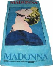 MADONNA - OFFICIAL BOY TOY 1989 TRUE BLUE LARGE BEACH TOWEL UNUSED NEW