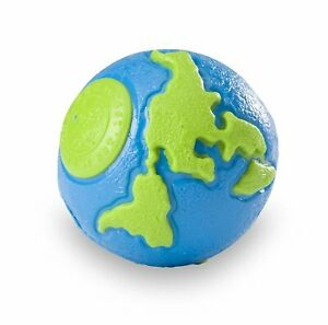 Planet Dog Orbee-Tuff Medium Blue/Green Orbee Ball for Dogs