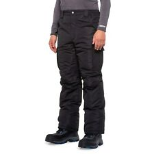 Waterproof Snow Snowboarding Ski Insulated Cargo Pants Black Mens Size S to XL