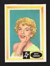 Betty Johnson 1960 Fleer Spins and Needles Card #10
