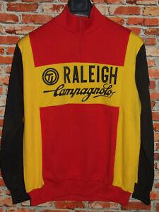 Trikot Fahrrad Jacke Radsport Eroica Vintage 70'S Raleigh Campagnolo Wolle