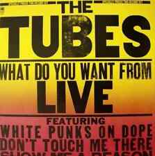 THE TUBES - What Do You Want From Live (Double LP) (G+/VG+)