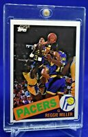 REGGIE MILLER TOPPS ARCHIVES RC ROOKIE SP RARE INDIANA PACERS LEGEND HOF