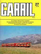 Carril n°27 Locomotives-Tenders, Amorebiata - Bermeo, Gornergratbahn