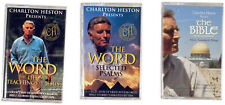 Charlton Heston ◈ The Bible; The Word ◈ Lot of 3 Audio Cassettes (Sealed)