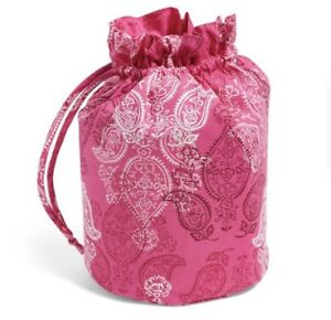 NWT Vera Bradley Ditty Bag in Stamped Paisley