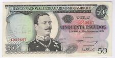 More details for 1970 mozambique 50 escudos bank note no overprint | bank notes | pennies2pounds