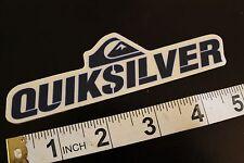 QUIKSILVER Logo Quicksliver Vintage Surfing Decal STICKER